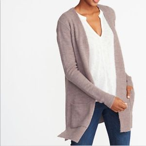 Old Navy long line open front cardigan